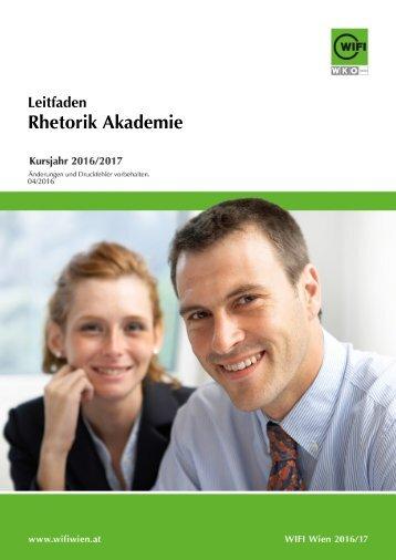 Leitfaden: Rhetorik Akademie