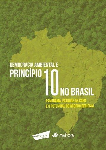 PRINCÍPIO NO BRASIL