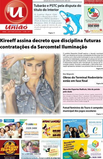 Jornal União - Edição de 27/04 a 03/Maio de 2016