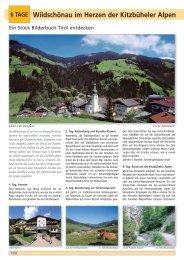 Wildschönau im Herzen der Kitzbüheler Alpen