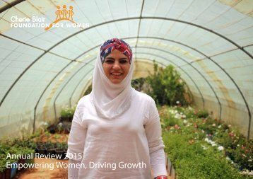 Annual Review 2015 Empowering Women Driving Growth