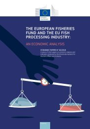 THE EUROPEAN FISHERIES FUND AND THE EU FISH PROCESSING INDUSTRY