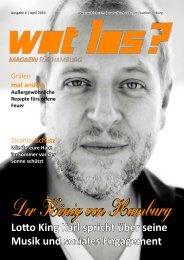 Wat Los? / Ausgabe 4 - 2016