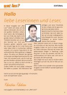 Wat Los? / Ausgabe 4 - 2016 - Seite 3
