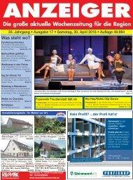 Anzeiger Ausgabe 17/16