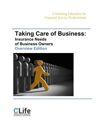 Taking Care of Business - Overview