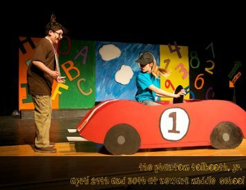 """The Phantom Tollbooth Jr."""" April 29th and 30th At Newark Middle school"""