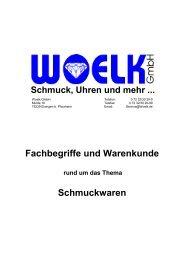 Schmuck, Uhren und mehr ... Fachbegriffe und ... - Woelk GmbH