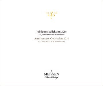 Anniversary Collection 2010 Jubiläumskollektion 2010
