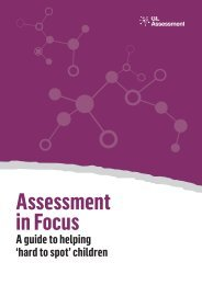 Assessment in Focus