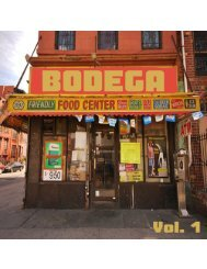 BODEGA Vol. 1