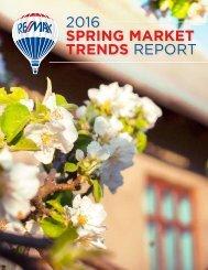 2016 Spring Market trends Report
