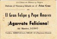 Maestro Soro - El gran Felipe y Pepe Amores - Agarrate Feliciano