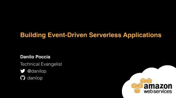 Building Event-Driven Serverless Applications