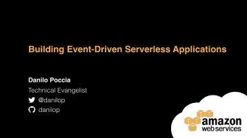 Building Event-Driven Serverless Applications