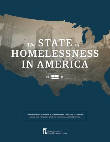 STATE HOMELESSNESS IN AMERICA