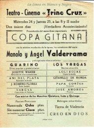 Manolo y Angel Valderrama - Copa Gitana