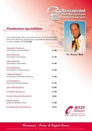 Restaurant · Party- & Buffett-Service - bei Wolf's Restaurant & Party ...