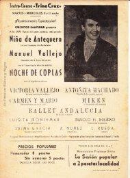 Niña de Antequera - Noche de Coplas