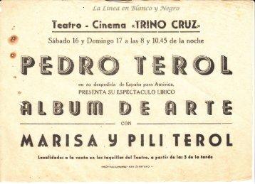 Pedro Terol - Album de Arte 0