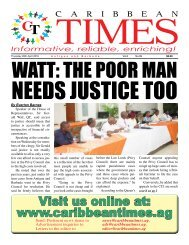 Caribbean Times 99th issue - Thursday 28th April 2016
