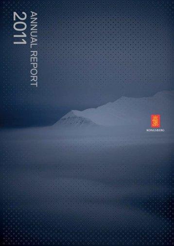 Annual Report 2011 - Kongsberg Maritime - Kongsberg Gruppen