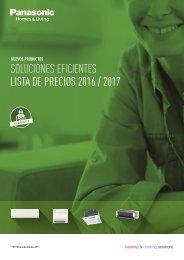 SOLUCIONES EFICIENTES LISTA DE PRECIOS 2016 / 2017