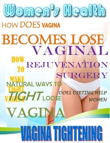 Vagina Tightening Guide