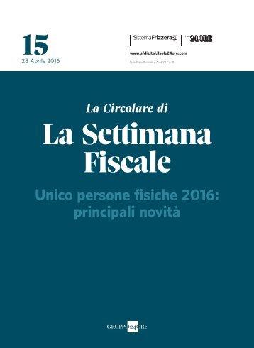 15 La Settimana Fiscale