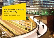 Our journey towards sustainability