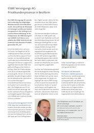 ESWE Versorgungs AG, Privatkundenprozesse in Bestform, Referenzbericht
