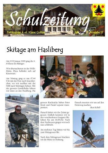 Schulzeitung 12-2009neu - Guttannen - Kibs.ch