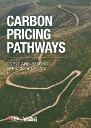 CARBON PRICING PATHWAYS