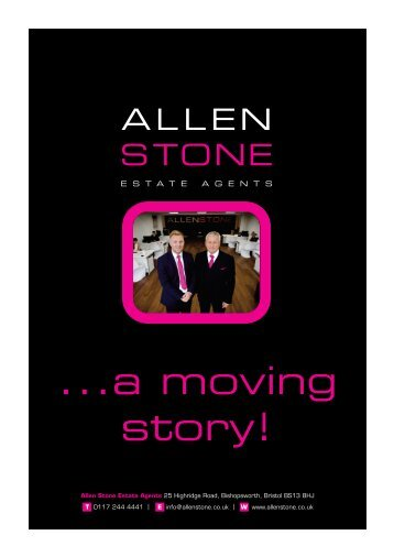 ALLENSTONE MARKETING BROCHURE QK 2016 NEW