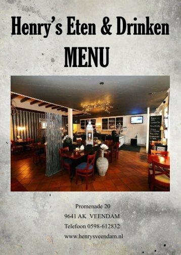 henrys-eten-en-drinken-menukaart