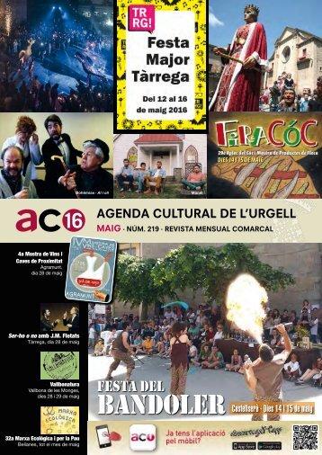 Agenda MAIG 2016
