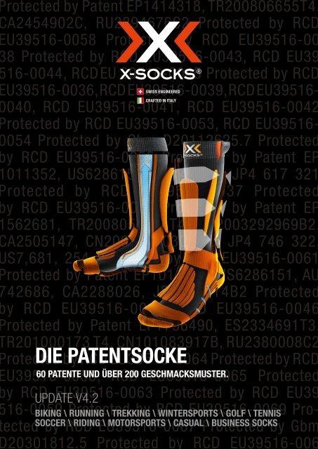 Xsocks Ski Carving Ultralight Orange//Black X020022// Mountain Footwear Men/'s