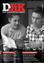 DEIN JUGENDINFOKALENDER - Dornbirn Online