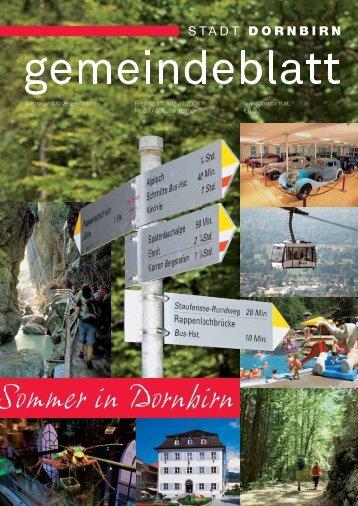 Sommer in Dornbirn