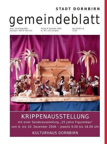 Gemeindeblatt Nr.49 vom 08. Dezemberr 2006
