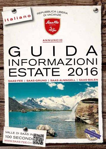 Guida Informaziono Estate 2016