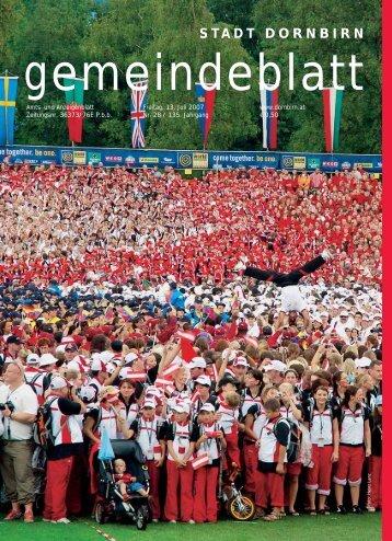 Gemeindeblatt - Dornbirn Online