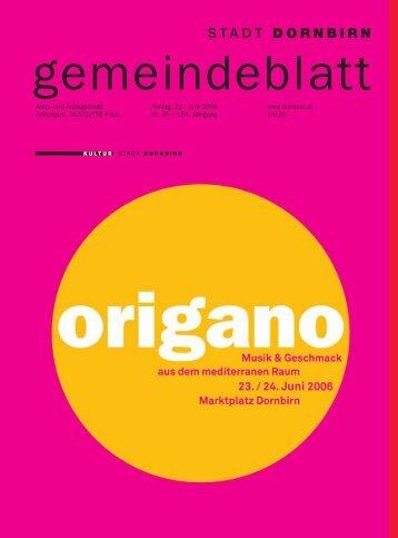 Gemeindeblatt Nr.25 vom 23.juni 2006