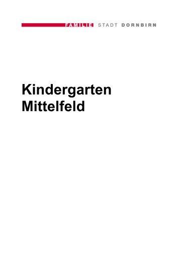 Kindergarten Mittelfeld