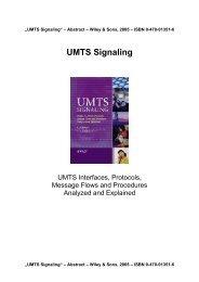 UMTS Signaling - Tektronix