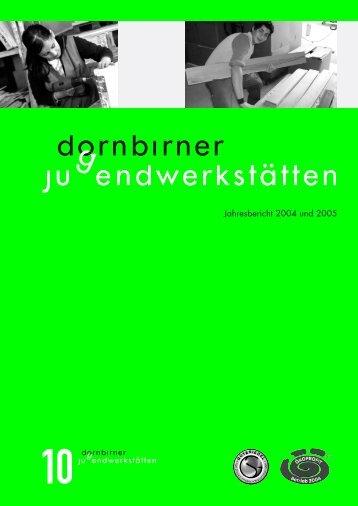 Jahresbericht 2004 und 2005