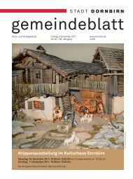 STADT DORNBIRN - Dornbirn Online
