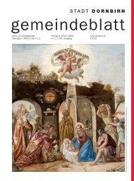 Gemeindeblatt Nr. 01 vom 06. J