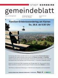 Familien-Erlebniswandertag am Karren So, 28.8. ab 9.00 Uhr