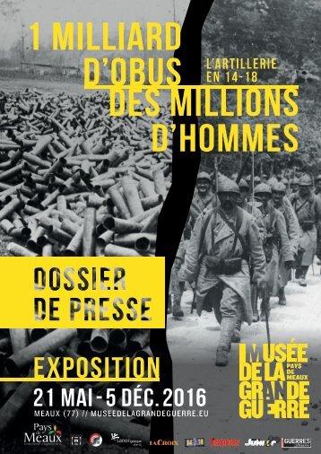 1 MILLIARD D'OBUS DES MILLIONS D'HOMMES